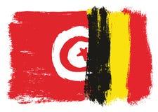 Bandiera della Tunisia Fotografie Stock Libere da Diritti