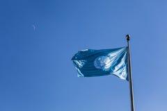 Bandiera delle nazioni unite fotografie stock