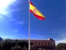 Bandiera dello Spagnolo Immagine Stock