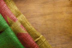 Bandiera dello stato del Camerun Fotografia Stock Libera da Diritti