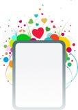 Bandiera di amore della sorgente illustrazione vettoriale