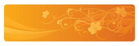 Bandiera di autunno Immagine Stock