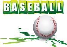 Bandiera di baseball Fotografie Stock