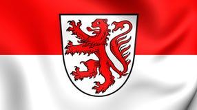 Bandiera di Braunschweig, Germania Fotografia Stock Libera da Diritti