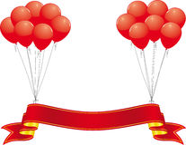 Bandiera di celebrazione royalty illustrazione gratis