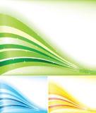 Bandiera di colore di vettore Fotografia Stock