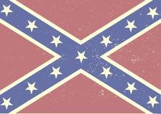 Bandiera di confederazione Immagine Stock