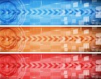 Bandiera di Digitahi Fotografia Stock Libera da Diritti