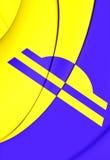 Bandiera di Ede Gelderland, Paesi Bassi Immagini Stock Libere da Diritti