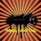 Bandiera di Festa del Lavoro Fotografie Stock Libere da Diritti