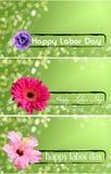 Bandiera di Festa del Lavoro Fotografia Stock Libera da Diritti