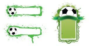 Bandiera di gioco del calcio Immagine Stock Libera da Diritti
