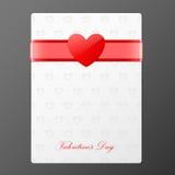 Bandiera di giorno dei biglietti di S. Valentino Fotografia Stock