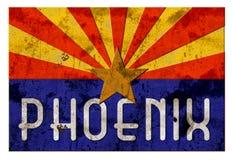 Bandiera di Grung Arizona del segnale stradale di Phoenix royalty illustrazione gratis