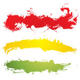 Bandiera di Grunge illustrazione di stock