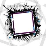 Bandiera di Grunge Fotografia Stock