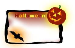 Bandiera di Halloween Immagini Stock Libere da Diritti