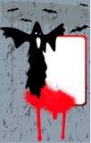 Bandiera di Halloween Fotografia Stock Libera da Diritti