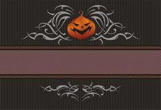 Bandiera di Halloween Fotografie Stock