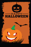 Bandiera di Halloween Fotografie Stock Libere da Diritti