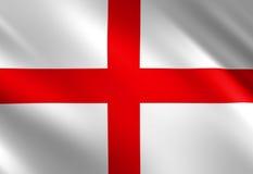 Bandiera di inglese Fotografie Stock