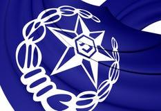 Bandiera di Israel Police Immagini Stock