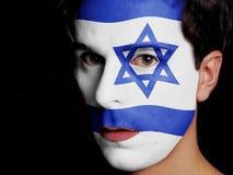 Bandiera di Israele Fotografia Stock Libera da Diritti