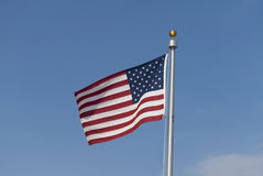 Bandiera di libertà Fotografie Stock