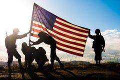 Bandiera di libertà fotografia stock libera da diritti