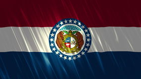 Bandiera di Loopable dello stato del Missouri illustrazione vettoriale