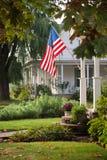 Bandiera di luogo natio Fotografia Stock Libera da Diritti