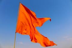 Bandiera di Maratha Fotografie Stock Libere da Diritti