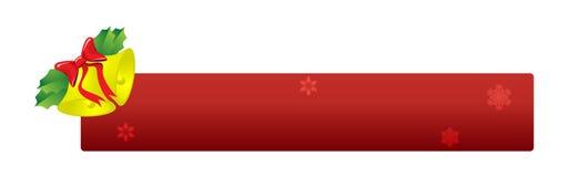 Bandiera di natale illustrazione di stock