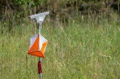 Bandiera di orienteering fotografia stock libera da diritti