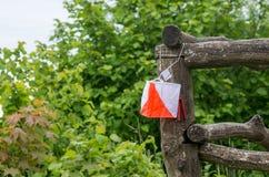 Bandiera di orienteering Immagini Stock Libere da Diritti