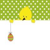 Bandiera di Pasqua Fotografia Stock