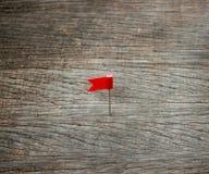 Bandiera di Pin Immagini Stock