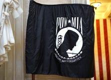 Bandiera di POW-MIA - non dimenticata fotografie stock