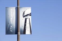 Bandiera di Super Bowl 45 Immagini Stock Libere da Diritti