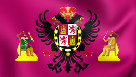 Bandiera di Toledo City, Spagna Immagine Stock Libera da Diritti