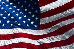 Bandiera di U.S.A. Fotografia Stock