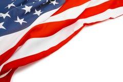 Bandiera di U.S.A. con il posto per il vostro testo - alto vicino Fotografia Stock