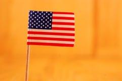Bandiera di U.S.A. di lerciume Fotografie Stock Libere da Diritti