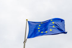 Bandiera di UE Fotografia Stock Libera da Diritti