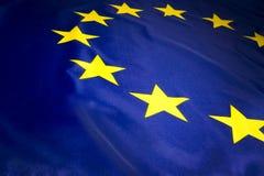 Bandiera di UE Fotografie Stock Libere da Diritti