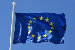 Bandiera di Unione Europea Fotografie Stock Libere da Diritti
