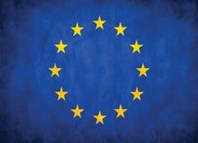 Bandiera di Unione Europea Fotografie Stock