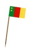 Bandiera di vecchio Camerun Fotografia Stock