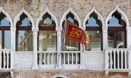 Bandiera di Venezia Immagine Stock Libera da Diritti