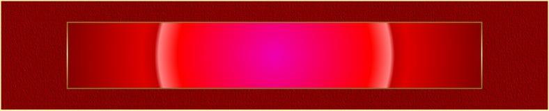 Bandiera di Web illustrazione vettoriale